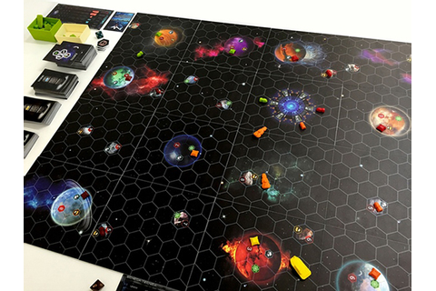 Parsec - Age Of Colonies - Kickstarter - Board Game Reviewed