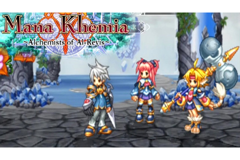 Mana Khemia: Alchemists of Al-Revis ... (PS2) - YouTube