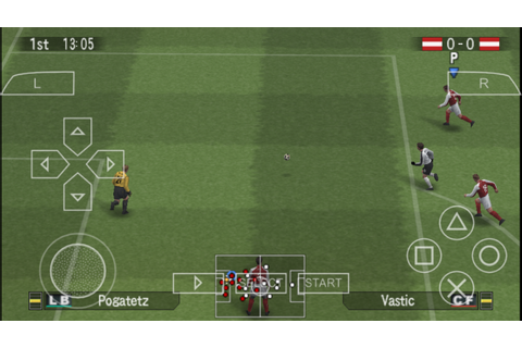 World Soccer Winning Eleven 9 PSP ISO Free Download ...