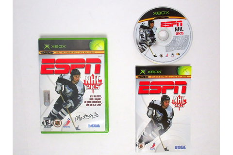 ESPN NHL 2K5 game for Xbox (Complete) | The Game Guy