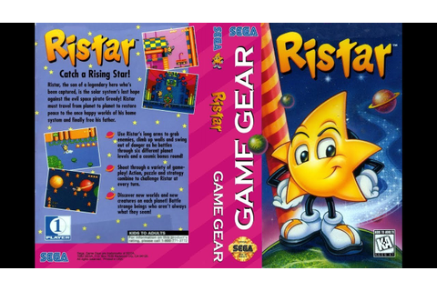 GAME GEAR - RISTAR THE SHOOTING STAR [720p HD] - YouTube