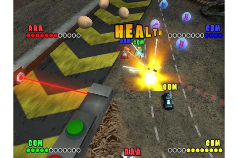 Micro Machines v4 Game - Free Download Full Version For Pc