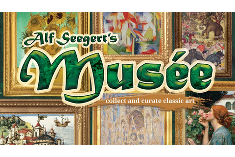 Musée: Alf Seegert's New Bookshelf Game of Classic Art! by ...
