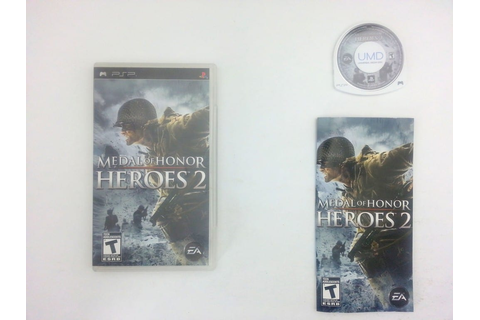Medal of Honor Heroes 2 game for Sony PSP -Complete ...