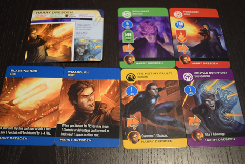 The Dresden Files Cooperative Card Game Review | Gameosity