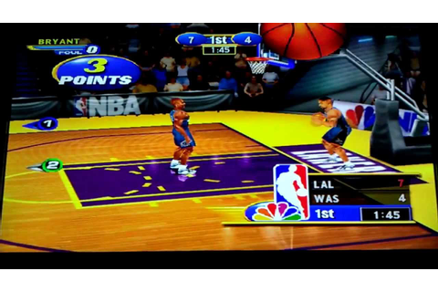 NBA Showtime: NBA on NBC (DC) Arcade - YouTube