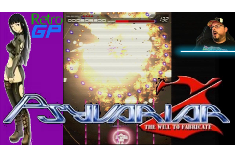 PSYVARIAR 2 on the SEGA Dreamcast in RGB - 4 in 1 Shooter ...