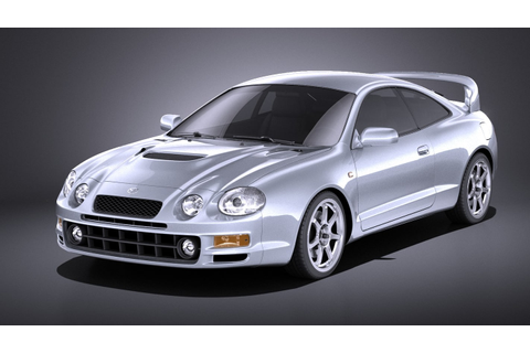 Toyota celica gt-four 3D model - TurboSquid 1263324