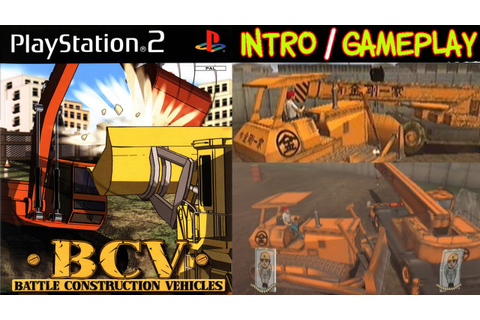 BCV: Battle Construction Vehicles Intro & Gameplay PS2 HD ...