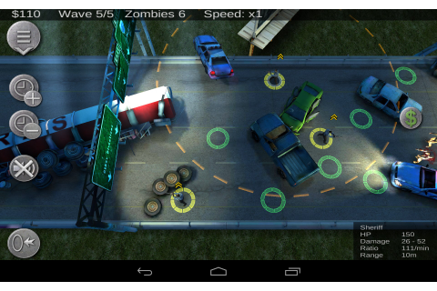 Zombie Defense – Games for Android – Free download. Zombie ...