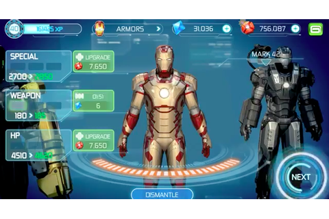 New Iron Man 3 Game Trailer From Gameloft Shows Off ...