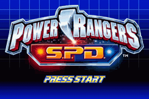 Play Power Rangers S.P.D. Nintendo Game Boy Advance online ...