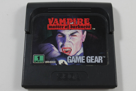 Vampire Master of Darkness - Sega Game Gear