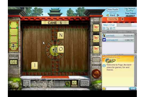 Pogo Games: WordJong (Retired) - YouTube