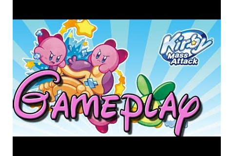 (New Nintendo DS Game) Kirby Mass Attack! First Level ...