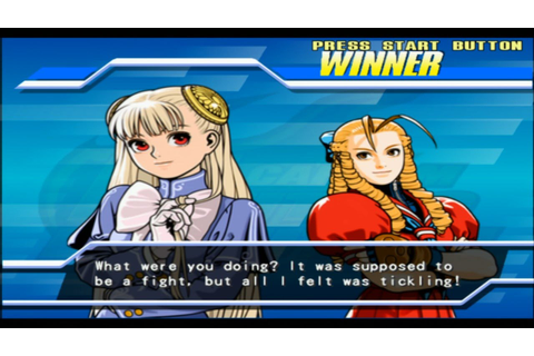 Capcom Fighting Jam/Evolution: Ingrid/Karin Kanzuki Arcade ...