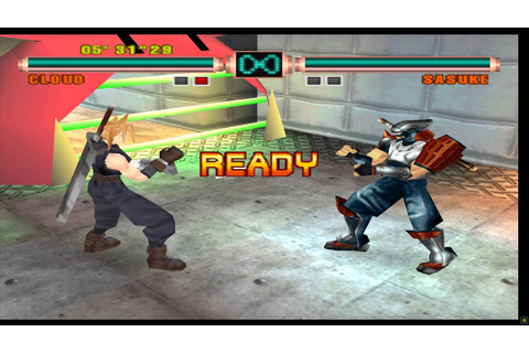 Ehrgeiz PSX Emulator Final Fantasy VII Fights 1: Cloud ...