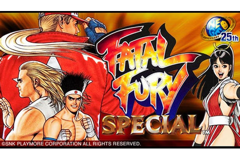 Buy FATAL FURY SPECIAL from the Humble Store