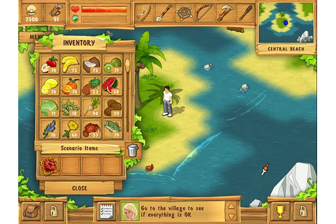 Play The Island: Castaway > Online Games | Big Fish