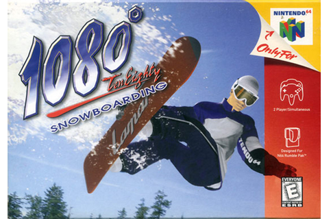 1080 Snowboarding Nintendo 64 N64 Game For Sale | DKOldies