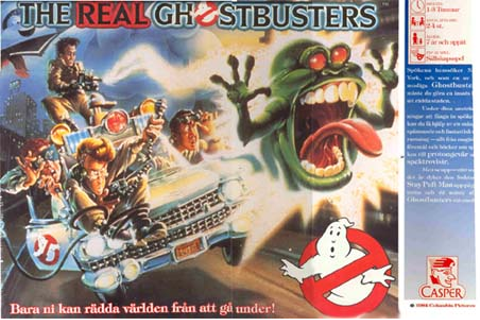 The Real Ghostbusters Board Game (Casper) | Ghostbusters ...