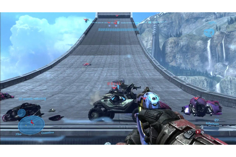 Halo Reach: Custom Game Fun on Jump Rope - YouTube