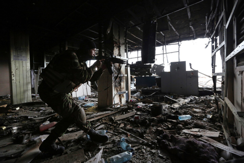 Photos: The battle for Donetsk airport - Los Angeles Times