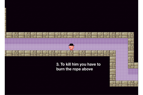 Flashgame der Woche - You have to burn the rope