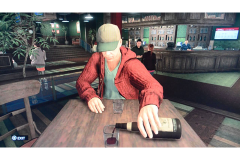 Getting Drunk at the Bar in Watch Dogs Drinking Game - YouTube