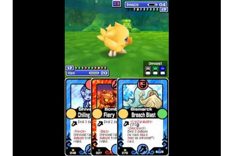 Final Fantasy Fables: Chocobo Tales (DS) - Pop-up Duel vs ...