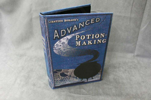Harry Potter Advanced Potion Making Book Replica - Custom ...