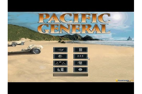 Pacific General gameplay (PC Game, 1997) - YouTube