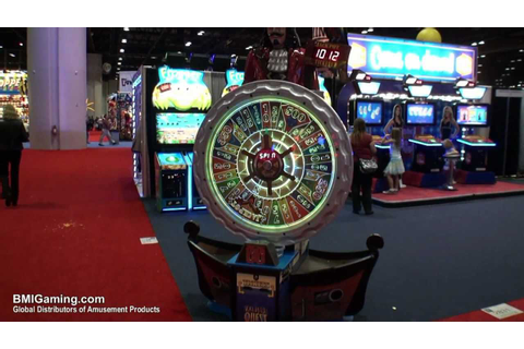 Treasure Quest - Pirate's Ticket Redemption Wheel Game ...