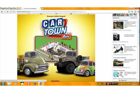 Car Town on facebook - YouTube