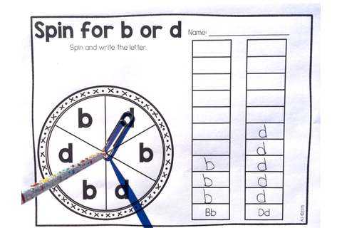 Extra Special Teaching: Helping B and D Reversals (freebie ...