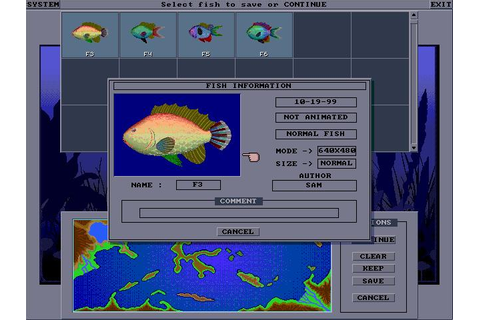 El-Fish Download (1993 Simulation Game)