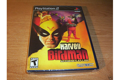 HARVEY BIRDMAN ATTORNEY AT LAW PLAYSTATION 2 PS2 NEW ...