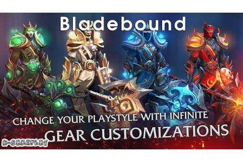 Bladebound Gameplay Hack and Slash iOS Android Games - YouTube