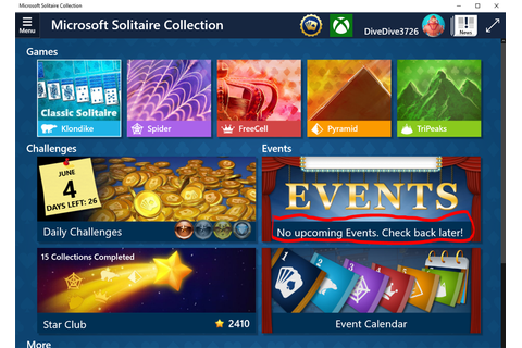 Microsoft Solitaire Collection - possible bugs Microsoft ...