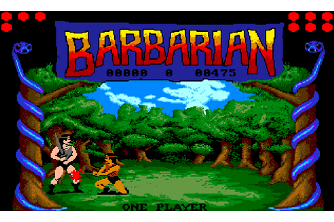 Barbarian: The Ultimate Warrior - The Company - Classic ...