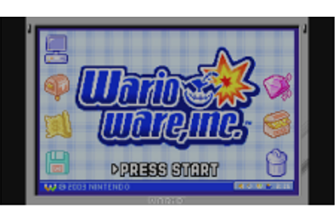 WarioWare, Inc.: Mega Mini-Jeux | Game Boy Advance | Jeux ...