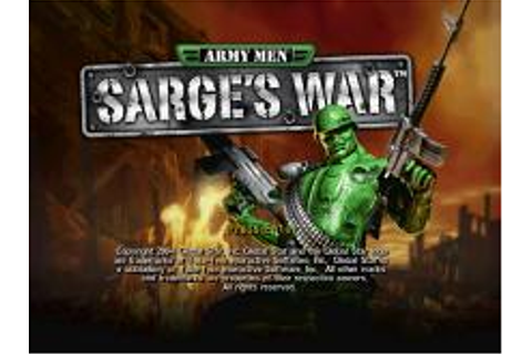 Army Men: Sarge's War Download (2004 Arcade action Game)