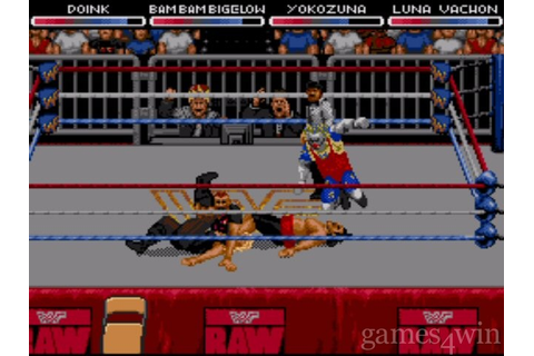 WWF RAW Download on Games4Win