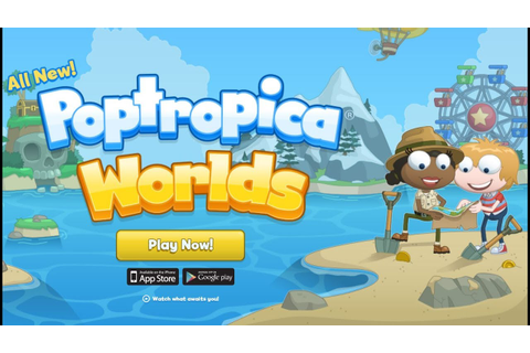 Poptropica Worlds Android/iOS Gameplay ᴴᴰ - YouTube