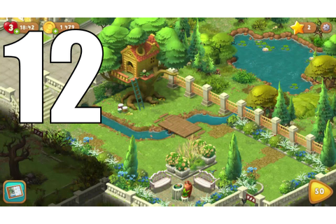 Gardenscapes - New Acres Android Gameplay #12 - Level 47 ...