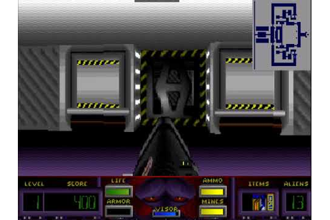 Corridor 7: Alien Invasion (1994), MS-DOS game nr. 8 - YouTube