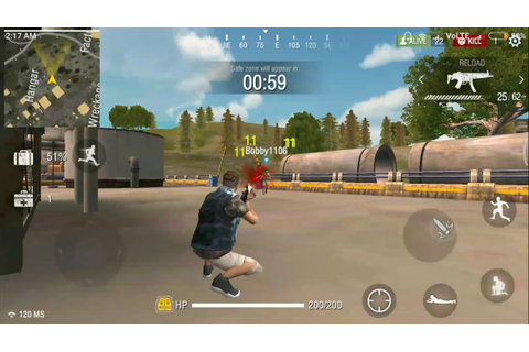 Free Fire Battleground Android Multiplayer Online Fps Game ...