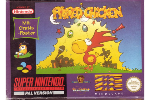 Alfred Chicken for SNES (1994) - MobyGames