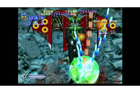 Gigawing 2 Full Game Play 1080P 60FPS Sega Dreamcast - YouTube