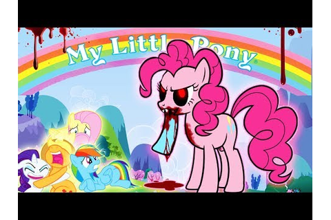 Pinkie Pies Cupcake Party My Little Pony Horror Game Scary ...